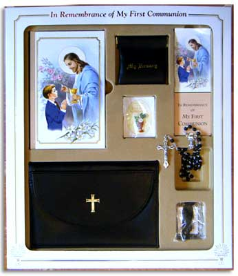 Boys First Communion Gift Set