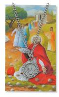 St. Timothy Pendant and Prayer Card Set
