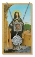 St. Veronica  Pendant and Prayer Card Set