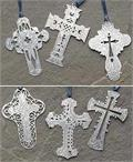 Silver Cross Bookmark - Party Favor