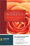 Catholic Women's Devotional Bible - hardcover