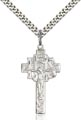 Sterling Silver Crucifix-IHS Necklace #86899