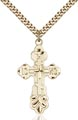 Gold Filled Cross Necklace #86973
