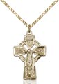 Celtic Crucifix Necklaces