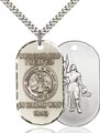 Sterling Silver Army Iraq Pendant, Army