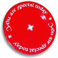 Red Plate - You are Special Today