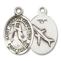 St. Joseph of Cupertino Charm - Sterling Silver (#84630)