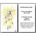Personalized Confirmation Holy Cards