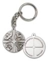 Antique Silver Christian Life Keychain
