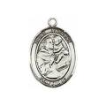 Saint Anthony Sterling Silver Medal