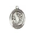 Saint Cecilia Sterling Silver Medal
