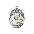 Saint Ignatius Sterling Silver Medal
