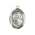 Saint Theresa Sterling Silver Medal