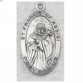 St. Francis of Assisi Medal in Sterling Silver_3