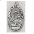 St. Thomas Aquinas Medal in Sterling Silver_1
