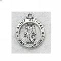 St. Michael Medal in Sterling Silver 15424