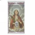 St. Lucy Pendant and Prayer Card Set