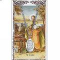 St. Luke Pendant and Prayer Card Set