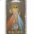 Divine Mercy Pendant and Prayer Card Set
