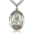 St. Timothy Medal - Sterling Silver - Large, Engravable  (#82204)