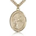 St. Nimatullah Medal - Gold Filled - Large, Engravable  (#82784)