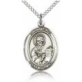 St. Paul the Apostle Medal - Sterling Silver - Medium, Engravable  (#83522)