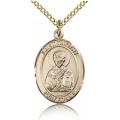 St. Timothy Medal - Gold Filled - Medium, Engravable  (#83568)