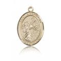 St. Nimatullah Medal - 14 KT Gold - Medium, Engravable  (#84157)